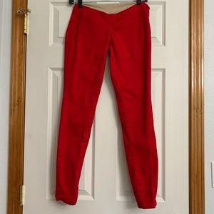 Motherhood Red Maternity Pants